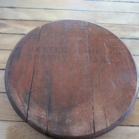 barrel bottom lazy Susan