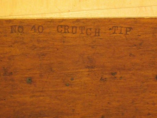 crutch tips from Holyoke
