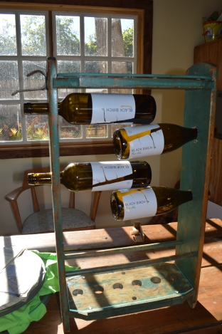 croquet set wine holder