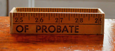 of probate